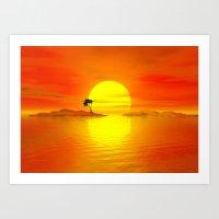 Island Of The Sun Art Print
