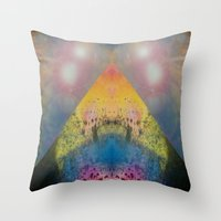 FX#401 - Cosmic Pyramid Throw Pillow