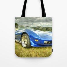 Corvette Stingray Tote Bag