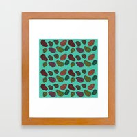 420 Nug Pattern Framed Art Print