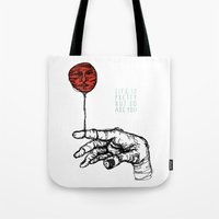Life Is Pretty Tote Bag