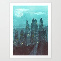 To The City Art Print