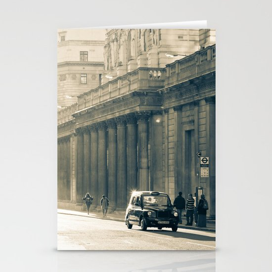 Old street that vanishes Stationery Card