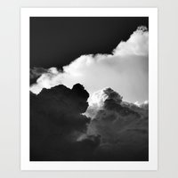 'Colliding Clouds' Art Print