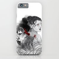 iPhone & iPod Case featuring Black Swan II by Eltina Giannopoulou