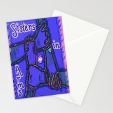 Sisters in Arms Stationery Cards