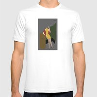 Chinese Dress Mens Fitted Tee White SMALL