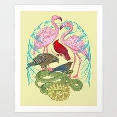 Wild Anatomy II Art Print