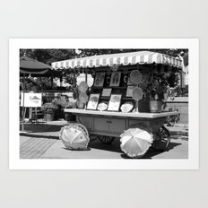 Artist Wagon Art Print