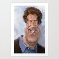 Will Ferrell Art Print