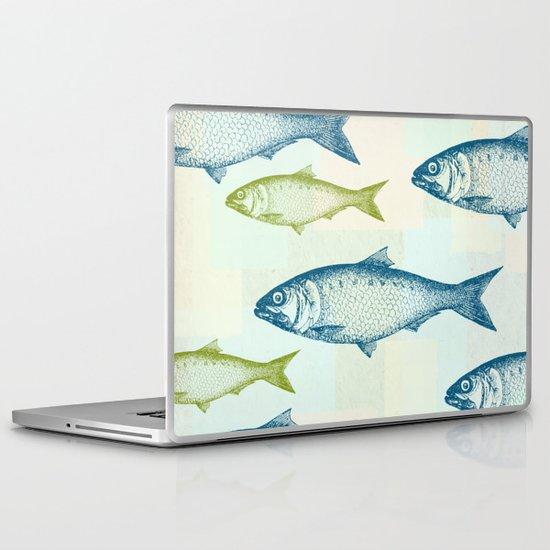 Vintage Fish Laptop & iPad Skin