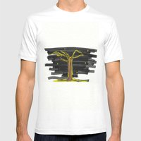 Tree#2 Mens Fitted Tee White SMALL