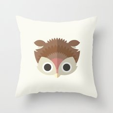 The Owl Throw Pillow