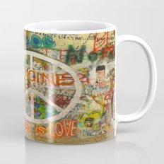 Peace Sign - Love - Graf… Mug