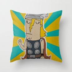 004_thor Throw Pillow