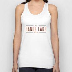 CANOE LAKE Unisex Tank Top