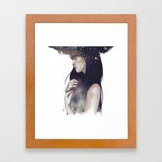 Crown of Stars Framed Art Print