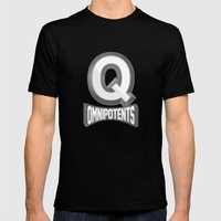 Q Omnipotents Mens Fitted Tee Black SMALL