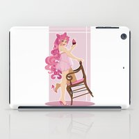 Sailor Moon Pinup - Chibiusa Cupcake iPad Case