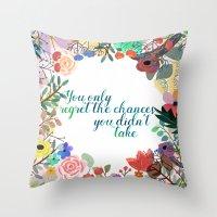 Some Inspiration Throw Pillow