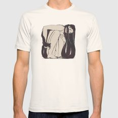 My Simple Figures: The Square Mens Fitted Tee Natural SMALL