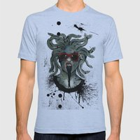 Medusa II Mens Fitted Tee Athletic Blue SMALL
