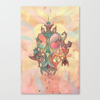 The Fountain of Originality Canvas Print
