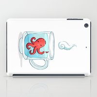 Octopus Tea iPad Case