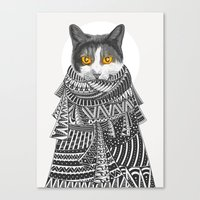 Colder Than I Thought Canvas Print