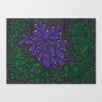 Thorny Bush Canvas Print