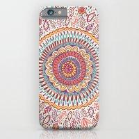 mandala iPhone & iPod Cases featuring Sunflower Mandala by Janet Broxon