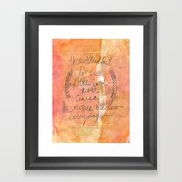Great Is Thy Faithfulnes… Framed Art Print