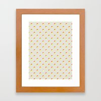 Just Dottie Framed Art Print