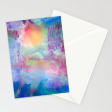You Are entering a beautiful place called heaven  by Sherriofpalmsprings Stationery Cards