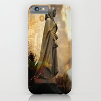 iPhone & iPod Case featuring Witch Burn by Cemetery Prints Inc.