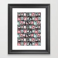 Fashion Crew Framed Art Print