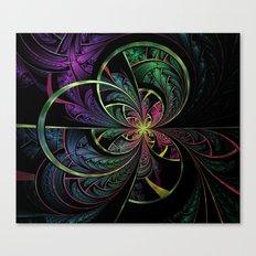 Rainbow Splits Canvas Print