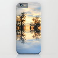 iPhone & iPod Case featuring Criss Cross Skies by Shalisa Photography
