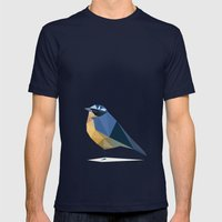 Bird Mens Fitted Tee Navy SMALL