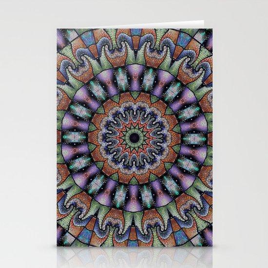 Mandala Stationery Card