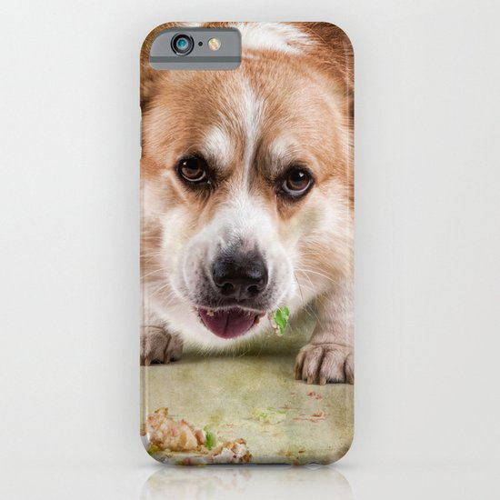 I have to hurry before she sees me.............. iPhone & iPod Case