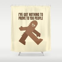 Surefooted Shower Curtain