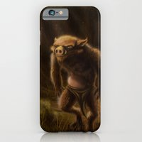 iPhone & iPod Case featuring Pequenino & the Father Trees by Niki Smith