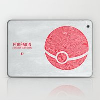 Pokemon Typography Laptop & iPad Skin