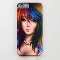 iPhone & iPod Case featuring Rainbowdash by Sanjin Halimic