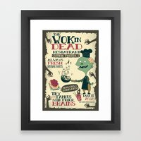 The Wok In Dead (v.2) Framed Art Print