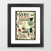 The Wok In Dead (v.2) Framed Art Print