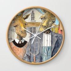 American Giraffic Wall Clock