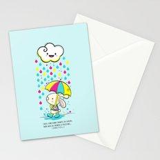 Rain Rabbit ezekiel 34:26 Stationery Cards
