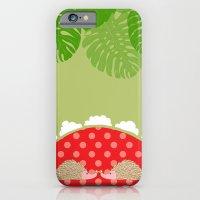 hedge-hug iPhone 6 Slim Case